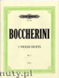 Ok�adka: Boccherini Luigi, 3 Violin Duets, Op. 5