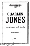 Okładka: Jones Charles, Introduction and Rondo for String Orchestra