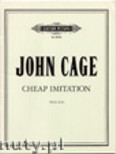 Ok�adka: Cage John, Cheap Imitation