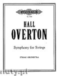 Okładka: Overton Hall, Symphony for Strings
