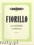 Ok�adka: Fiorillo Frederico, 36 Studies (Caprices) (Vln)