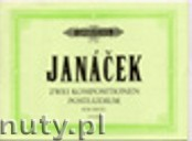 Okładka: Janácek Leos, 2 Compositions for Organ; Postludium from theGlagolitic Mass (Org)