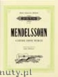 Okładka: Mendelssohn-Bartholdy Feliks, 4 Lieder ohne Worte
