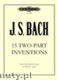 Okładka: Bach Johann Sebastian, 15 Two-part Inventions (Gtr)