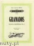 Okładka: Granados Enrique, Danza Espanola Nr. 2 op. 37 für 2 Gitarren