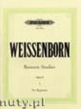 Ok�adka: Weissenborn Julius, Bassoon Studies for Beginners Op. 8, Vol. 1