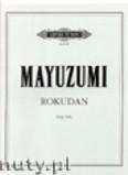 Okładka: Mayuzumi Toshiro, Rokudan for Harp Solo