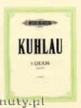 Okładka: Kuhlau Friedrich Daniel Rudolf, 3 Duos for Flutes, Op. 80