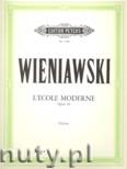 Okładka: Wieniawski Henryk, L'Ecole moderne, Op. 10