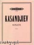 Okładka: Kasandjiev Wassil, Violin Sonata