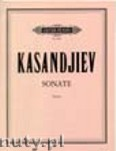 Ok�adka: Kasandjiev Wassil, Violin Sonata
