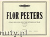 Ok�adka: Peeters Flor, Hymn Preludes for the Liturgical Year Op. 100, Vol. 7