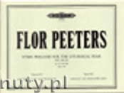 Okładka: Peeters Flor, Hymn Preludes for the Liturgical Year, Op. 100, Vol. 16