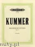 Ok�adka: Kummer Friedrich August, 10 Melodious Exercises Op. 57 for Violoncello