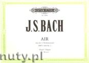 Okładka: Bach Johann Sebastian, Air from the Orchestral Suite No.3