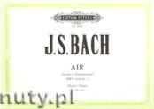 Ok�adka: Bach Johann Sebastian, Air from the Orchestral Suite No.3