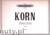 Ok�adka: Korn Peter Jona, Toccata f�r Orgel Op. 65