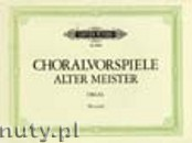 Ok�adka: R�ni, Chorale Preludes of the Old Masters for Organ