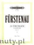 Okładka: Fürstenau Anton Bernhard, 26 Exercises, Op.107, Vol. 1