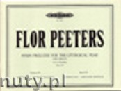 Okładka: Peeters Flor, Hymn Preludes for the Liturgical Year Op. 100, Vol. 15