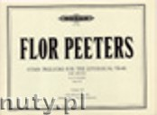 Okładka: Peeters Flor, Hymn Preludes for the Liturgical Year Op. 100 Vol. 11