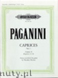 Okładka: Paganini Niccolo, Caprices Op.1 Vol.2 (Gtr)