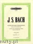 Okładka: Bach Johann Sebastian, 6 Solo Violoncello Suites BWV 1007 - 1012, Edition for Solo Double Bass, Vol. 1