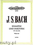 Okładka: Bach Johann Sebastian, The 6 Solo Sonatas and Partitas BWV 1001-1006 (Vln)