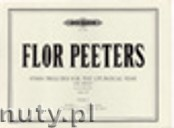Okładka: Peeters Flor, Hymn Preludes for the Liturgical Year, Op. 100, Vol. 1