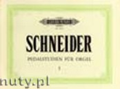 Okładka: Schneider Julius, 69 Pedal Studies Op. 67, Vol. 1