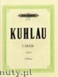 Okładka: Kuhlau Friedrich Daniel Rudolf, 3 Duos Op. 10