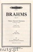 Okładka: Brahms Johannes, 3 Sacred Choruses Op.37 (SSAA)