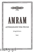 Okładka: Amram David, Autobiography for String Orchestra