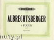 Okładka: Albrechtsberger Johann Georg, 6 Fugues Op.7 (Org)