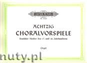 Ok�adka: Keller Hermann, 80 Chorale Preludes (Org)