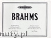 Ok�adka: Brahms Johannes, Alternative Versions of Chorale Preludes Op. 122, No. 2 and 5-7