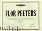 Okładka: Peeters Flor, Choralvorspiele für das Kirchenjahr für Orgel op. 100, Band 19