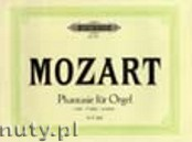 Okładka: Mozart Wolfgang Amadeusz, Fantasia in F minor K608 (Org)