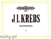 Okładka: Krebs Johann Ludwig, Organ Works Vol. 1
