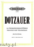 Okładka: Dotzauer Justus Johann Friedrich, 113 Exercises for Violoncello, Vol. 3