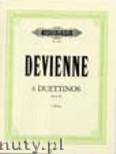 Okładka: Devienne Francois, 6 Duettinos op. 82 für 2 Flöten
