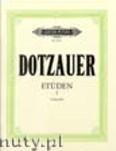 Ok�adka: Dotzauer Justus Johann Friedrich, 60 Et�den, Heft 1