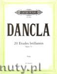 Ok�adka: Dancla Charles, 20 Etudes brillantes Op. 73