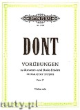 Ok�adka: Dont Jacob, 24 Preparatory Exercises Op.37 (Vln)