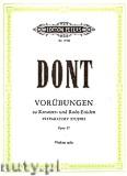 Okładka: Dont Jacob, 24 Preparatory Exercises Op.37 (Vln)