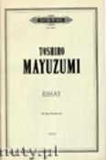 Okładka: Mayuzumi Toshiro, Essay for String Orchestra