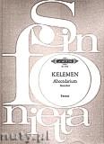 Okładka: Kelemen Milko, Abecedarium for string orchestra