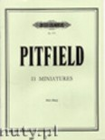 Ok�adka: Pitfield Thomas B., 11 Miniatures for Harp