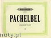 Okładka: Pachelbel Johann, Orgelwerke, Band 3