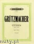 Okładka: Grützmacher Friedrich, 12 Etüden für Violoncello Op. 72., Heft 1